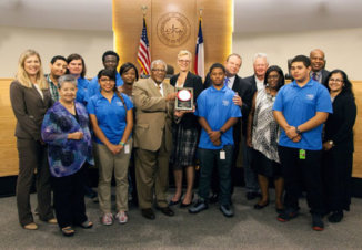 Commissioners Court IT Introduces Interns
